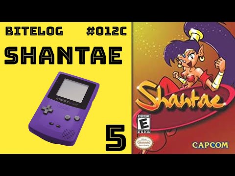BITeLog 012C.5: Shantae (GAMEBOY COLOR)