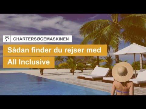 Sådan finder du rejser med All Inclusive