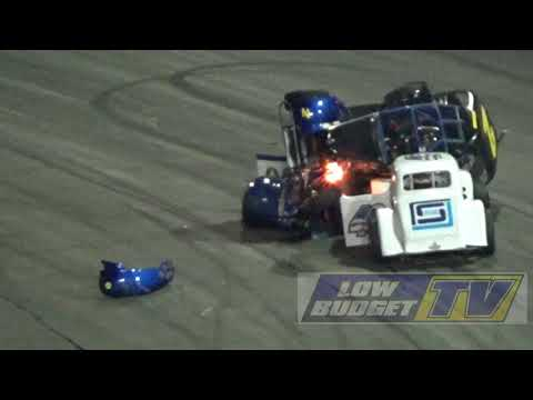 Legend Car Tumble - Irwindale Speedway