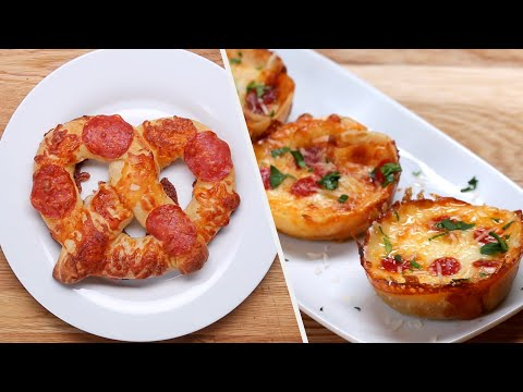 12 Appetizer Recipes For Pizza Lovers ? Tasty