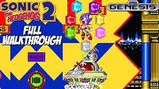 Sonic the Hedgehog 2 Sega Genesis Full Walkthrough Longplay