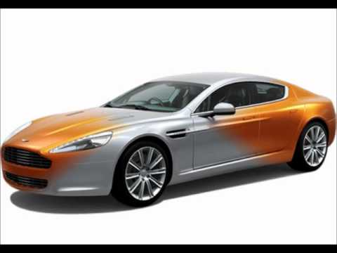 Aston Martin Rapide exteriors