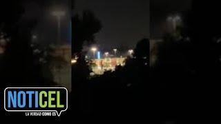 Vecinos graban descomunal tiroteo en Montehiedra