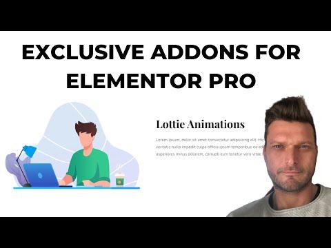 ✅ ANIMACIONES LOTTIE | EXCLUSIVE ADDONS FOR ELEMENTOR PRO