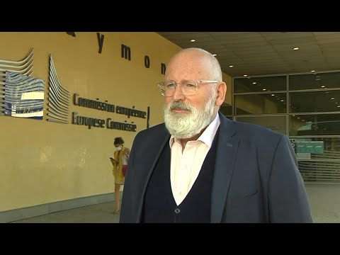 Timmermans Says 55% Emissions Cut Is Competitive, Ambitious