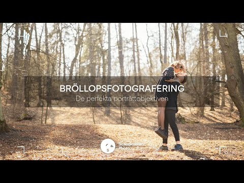 Test av 3 olika objektiv för bröllopsfotografen