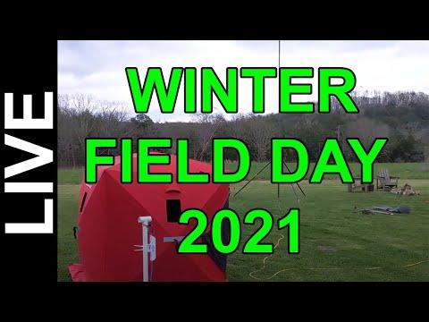 Ham Radio Contesting - Winter Field Day 2021