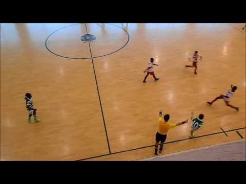 16/17 - Golos 9ª Jornada - Camp. Distrital - Sporting CP 13 x 2 Liberdade - JUNIORES E