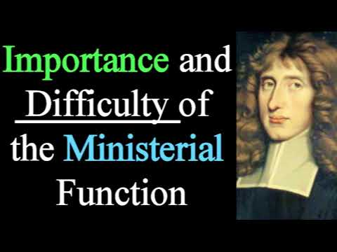 Importance and Difficulty of the Ministerial Function - Puritan Henry Scougal Audio Sermons