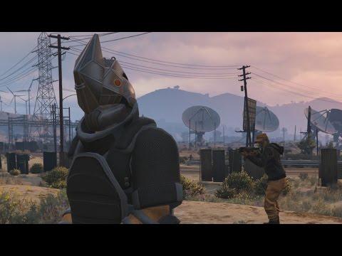 A Full Round of GTA Online's New Juggernaut Adversary Mode 1080p 60fps
