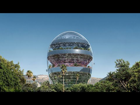 MAD Architects plans Hollywood office wrapped with funicular railway