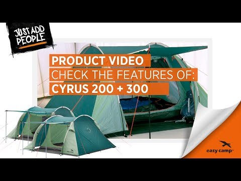 Cyrus 200 and 300 Tent | Just Add People