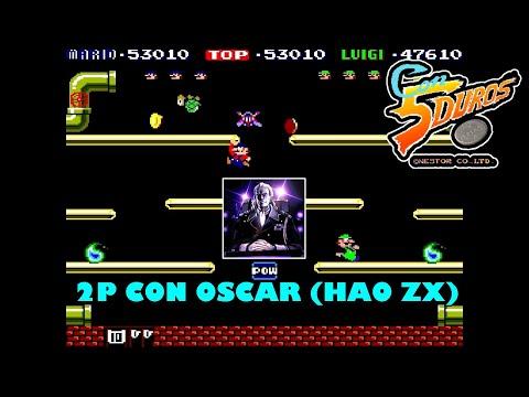 """MARIO BROS. - """"CON 5 DUROS"""" Episodio 880 (2P con HAO ZX) (+S.Mario All Stars SNES VS) (1cc) (1 loop)"""
