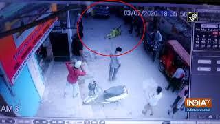 Watch: Drunken cop driver runs car over woman in Delhi - INDIATV