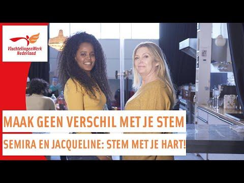 Semira (Eritrea) en Jacqueline   Maak geen verschil met je stem   VluchtelingenWerk Nederland photo