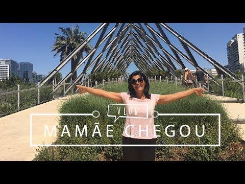 Parque Araucano em Santiago + Minha Mãe Chegou!!! | Pigmento F