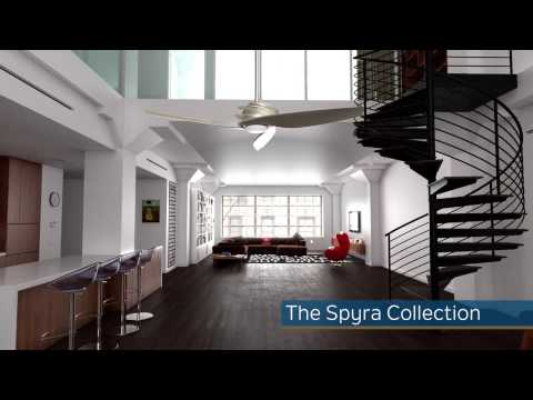 The Spyra Collection Ceiling Fans From Kichler