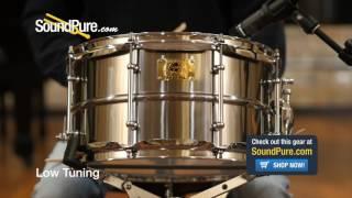 Pork Pie 7x13 Hip Pig Pig Iron Snare Drum Quick n' Dirty