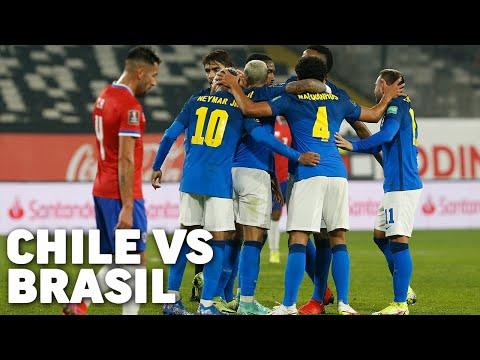 Eliminatorias Sudamericanas fecha 9 | Chile 0 - Brasil 1 | Qatar 2022