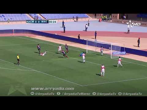 الكوكب المراكشي 0-1 الوداد البيضاوي هدف ميشيل بابا توندي