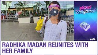 Angrezi Medium actress Radhika Madan flies out of Mumbai to reunite with her family - ZOOMDEKHO