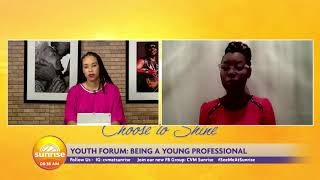Being A Young Professional in Jamaica | Sunrise: Youth Forum | CVMTV