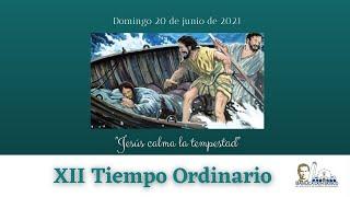 Misa Matutina 11 am. Domingo de la XII semana del Tiempo Ordinario ciclo B