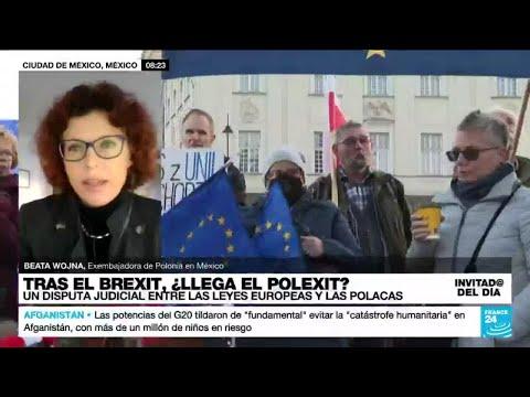 Beata Wojna: Estamos en una fase difícil de las relaciones de Polonia y las instituciones europeas