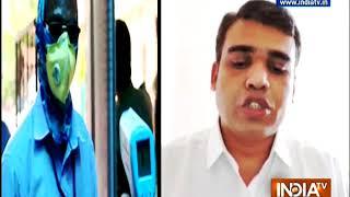 Railway authorities take serious measures to prevent coronavirus spread in Mumbai local trains - INDIATV