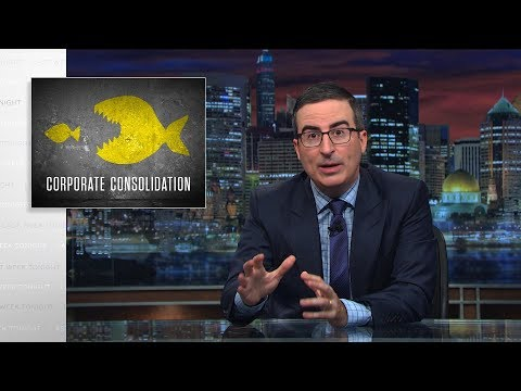 connectYoutube - Corporate Consolidation: Last Week Tonight with John Oliver (HBO)