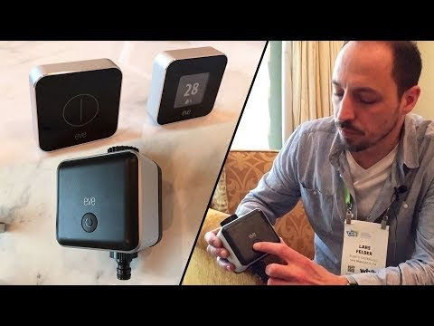 Hands-on: New Elgato Eve Button & Aqua Smart Devices by Lars Felber