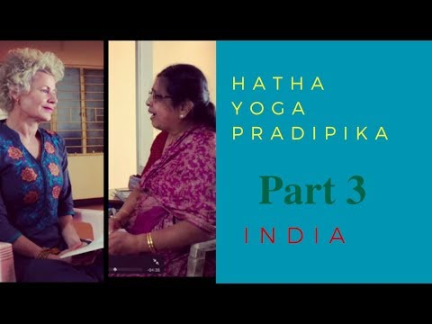 Hatha Yoga Pradipika - Chapter 2 Verses 21-31 - with Dr. M.A. Jayashree