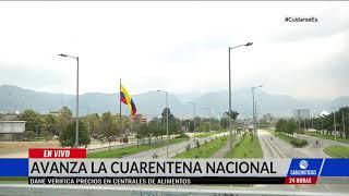 Así se Bogotá en el día dos de cuarentena nacional