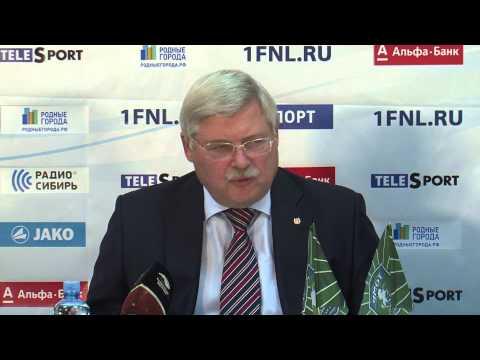 Пресс-конференция Сергея Жвачкина на которой был представлен Руслан Киселев