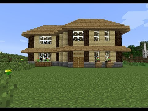 Minecraft comment faire une maison moderne simple for Maison moderne minecraft xbox one