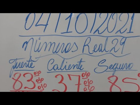 NUMEROS PARA HOY 04/10/2021 DE OCTUBRE PARA TODAS LAS LOTERIAS