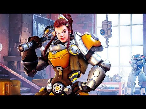 connectYoutube - OVERWATCH Brigitte Trailer (2018) A NEW HERO Now Available