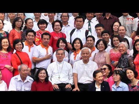 Các đoàn thể Công giáo Tiến hành chúc tết Đức Tổng Giám mục TGP Sài Gòn