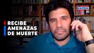 ????????Carlos Paredes recibe amenazas de muerte y hace responsable a Martín Vizcarra