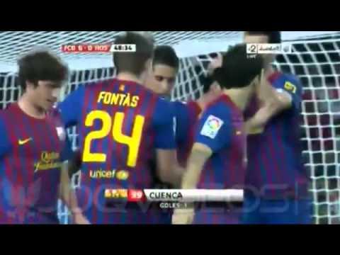 Video: Barcelona - žvėris žaidėjų kūne.