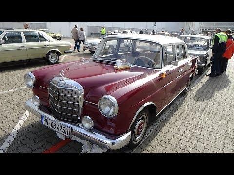 1964 Mercedes-Benz 190 C - Hamburg Motor Classics 2017