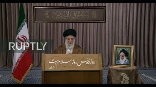 LIVE: Khamenei gives speech for International Quds Day