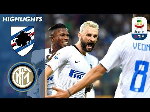 شاهد هدف المباراة المثيرة بين سمبدوريا وانتر ميلانو - بطولة ايطاليا -