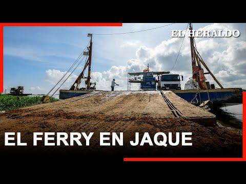 Notas EH   Ferry de Salamina, en jaque por fenómeno erosivo