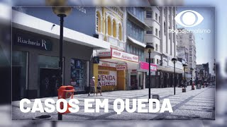 Coronavírus: casos estão em queda um mês após a volta do comércio em Fortaleza