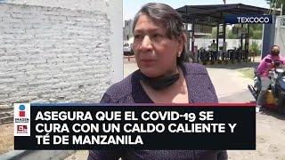 Enfrenta a enfermeras que protestaban en Texcoco