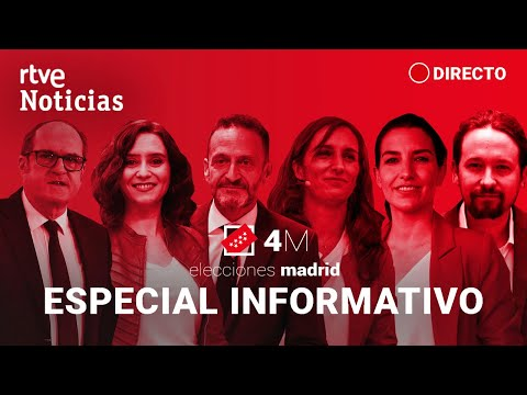 EN DIRECTO #Especial4mRTVE ELECCIONES MADRID: '4M. Madrid decide' | RTVE Noticias