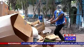Municipalidad realiza intensa Jornada de limpieza en diferentes mercados de la capital