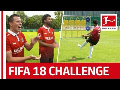Hannover's Surprise Performance - EA Sports FIFA 18 Bundesliga Free Kick Challenge