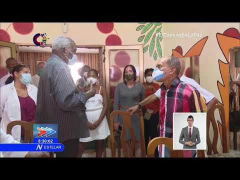 Cuba: realiza Esteban Lazo visita parlamentaria a Matanzas
